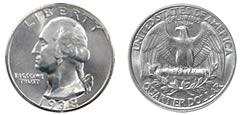 25 centesimi di dollaro - 1 quarter