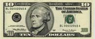 Banconota da 10 dollari