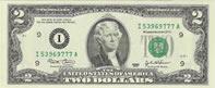 Banconota da 2 dollari