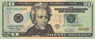 Banconota da 20 dollari